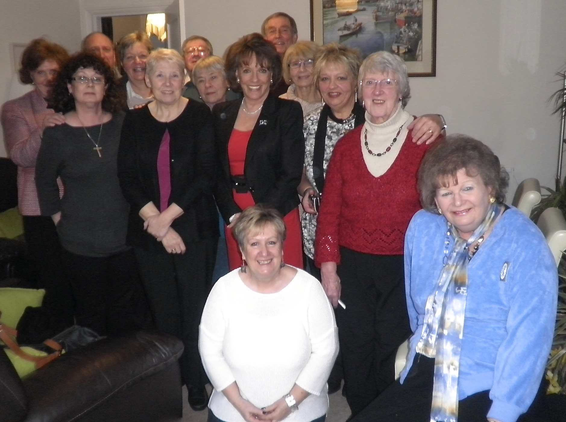 The Bristol Grandparents Support Group - Meeting Esther Rantzen