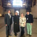 Meeting with Nigel Huddleston MP, Dame Esther Rantzen, Jane and Marc Jackson.